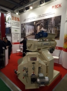 ICK Group exhibited GT-304 D Pellet mill at the exhibition «Agro Animal Show»