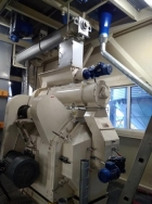 Commissioning a sunflower husk pelletizing line in the Rivne region